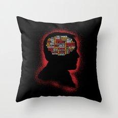 Crowley's Phrenology Throw Pillow