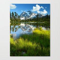 ALPINE MOUNT SHUKSAN AND… Canvas Print