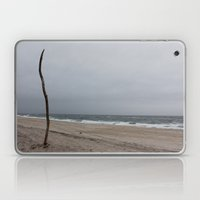 Cloudy Beach Day Laptop & iPad Skin