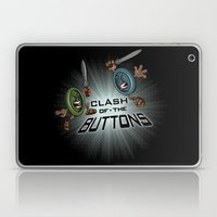 Clash of the BUTTONS! Laptop & iPad Skin