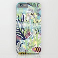 Aquatic with fish Slim Case iPhone 6s