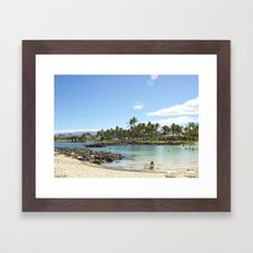 Just Beachy. How Are You? Framed Art Print