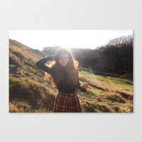 sunlight's daughter Canvas Print