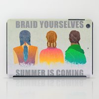 Braid Yourselves iPad Case