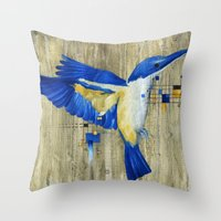 The Thing With Technolog… Throw Pillow