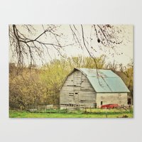 Ma and Pa Kettle Canvas Print