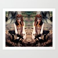 Reflects4 Art Print