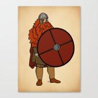 Red Beard 2 Canvas Print