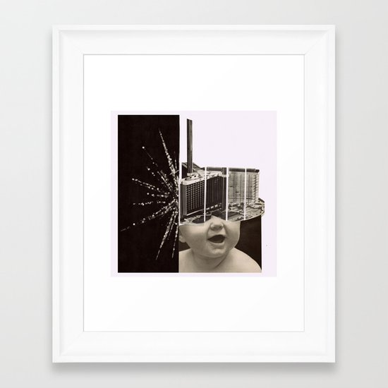 aa - n.1 (all the tag gets lost...) Framed Art Print