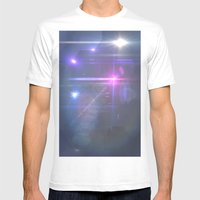 Space Mens Fitted Tee White SMALL