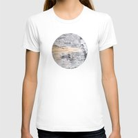 Planetary Bodies - Birch Womens Fitted Tee White SMALL