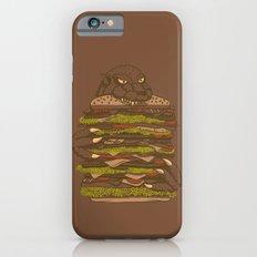 Godzilla vs Hamburger iPhone 6 Slim Case