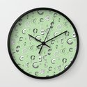 Letter Patterns, Part C Wall Clock