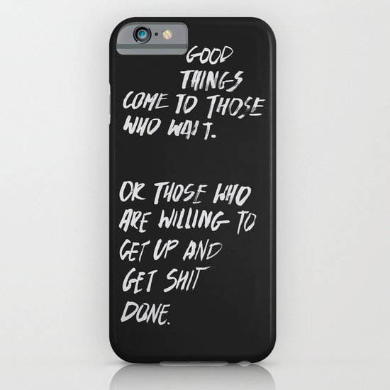 Good Things iPhone & iPod Case