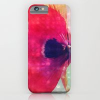iPhone & iPod Case featuring Mod Poppy by V. Sanderson / Chickens in the Trees