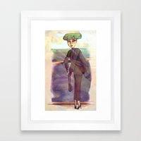Du Pont Framed Art Print