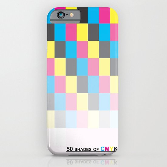 50 shades of CMYK iPhone & iPod Case