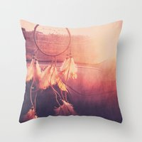 Throw Pillow featuring Dream Catcher by Whitney Retter