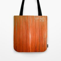 ORANGE STRINGS Tote Bag