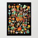 The Chipper Widget (Remix) Canvas Print