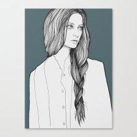 Nastya Canvas Print