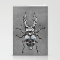 Beetleskull Stationery Cards