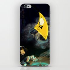 Gravity Falls- Dipper Pines And Bill Cipher iPhone & iPod Skin