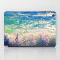 Aqua Mist iPad Case