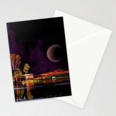 When dreams are living in my sleep Stationery Cards