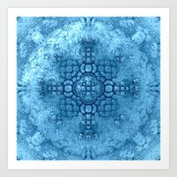 Snowball Deluxe Art Print