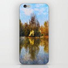 Autumn Lake iPhone & iPod Skin
