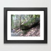 What a Rock Framed Art Print