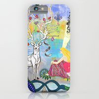The Lovers and the blue deer  iPhone 6 Slim Case