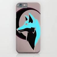 Night Fox with Moon iPhone 6 Slim Case
