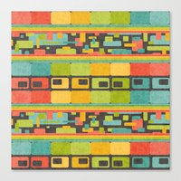 Retro Overload Canvas Print