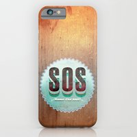 iPhone & iPod Case featuring S O S by michael pfister