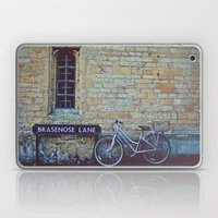 Bike, Wall And Window- O… Laptop & iPad Skin