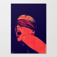 Blindfolded Canvas Print