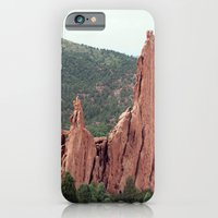 iPhone & iPod Case featuring Spires - Garden of the Gods by Katie Kirkland Photography