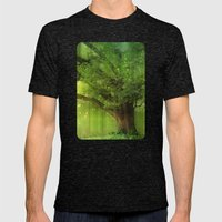 Family Tree Mens Fitted Tee Tri-Black SMALL