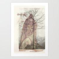 Buddhist Indian Guru Gre… Art Print