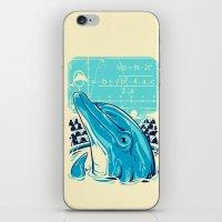 Aquatic problem iPhone & iPod Skin