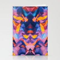 Abstract Surreal Chaos T… Stationery Cards