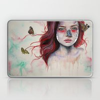 Where There Are Butterfl… Laptop & iPad Skin