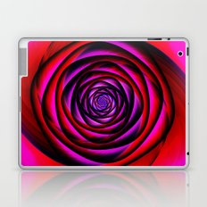 Fractal rose Laptop & iPad Skin