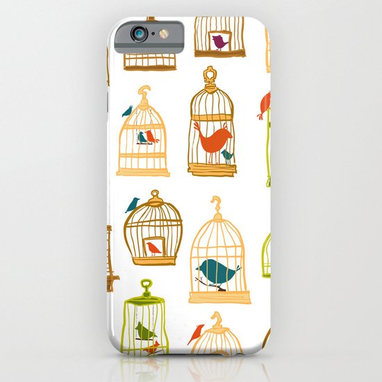 Bird Cages iPhone & iPod Case