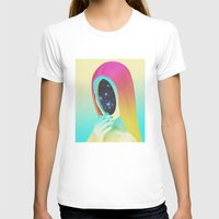Galexia Womens Fitted Tee White SMALL
