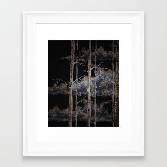 In The Brush Framed Art Print