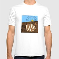 Gluttony Mens Fitted Tee White SMALL