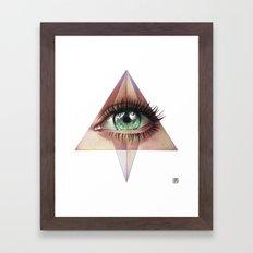 Eye of Providence Framed Art Print